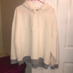 BNWOT Xersion fleece hoodie